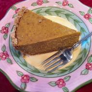 Vegan and Gluten Free Pumpkin Pie
