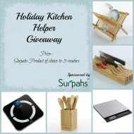 Holiday Kitchen Helper Giveaway:  5 Winners