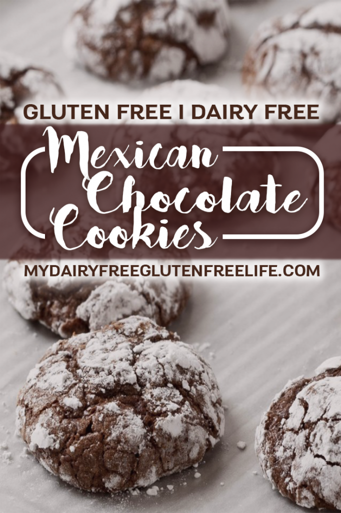 Mexican Chocolate Cookies Recipe, Gluten-Free & Dairy-Free | Gluten Free Chocolate Cookies | Easy Cookie Recipe | Dairy Free Gluten Free Dessert | Easy Holiday Cookies