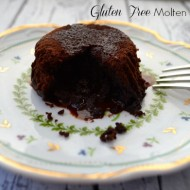 Tempting Tuesday's Recipe:    Molten Chocolate Lava Cake, Gluten Free & Dairy Free