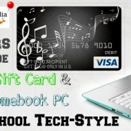 Win our Back to School Tech Style Giveaway of HP PC and $500 Visa GC!