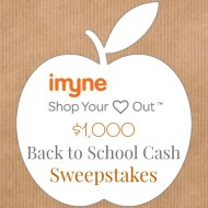 $1,000 Back To School Cash Giveaway from iMyne