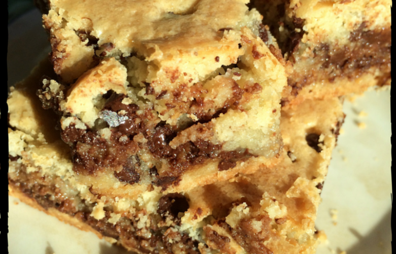 Gluten & Dairy Free Chocolate Chip Cookie Bars
