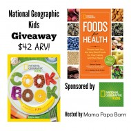 National Geographic Kids Cookbook & Foods Giveaway