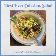 Best Ever Coleslaw Salad Recipe