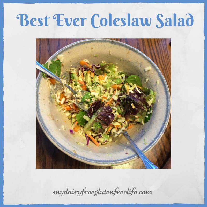 Best Ever Coleslaw Salad