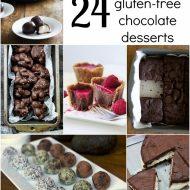 24 Vegan Gluten Free Chocolate Dessert Recipes