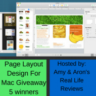 Page Layout Design Giveaway for Mac Users