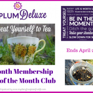 Plum Deluxe 3 Month Tea of the Month Club Giveaway