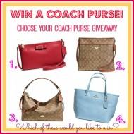 Win a Coach Purse!