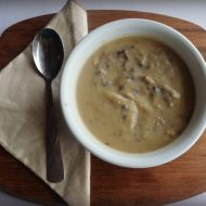 Gluten Free Cream of Mushroom Soup #Vegan