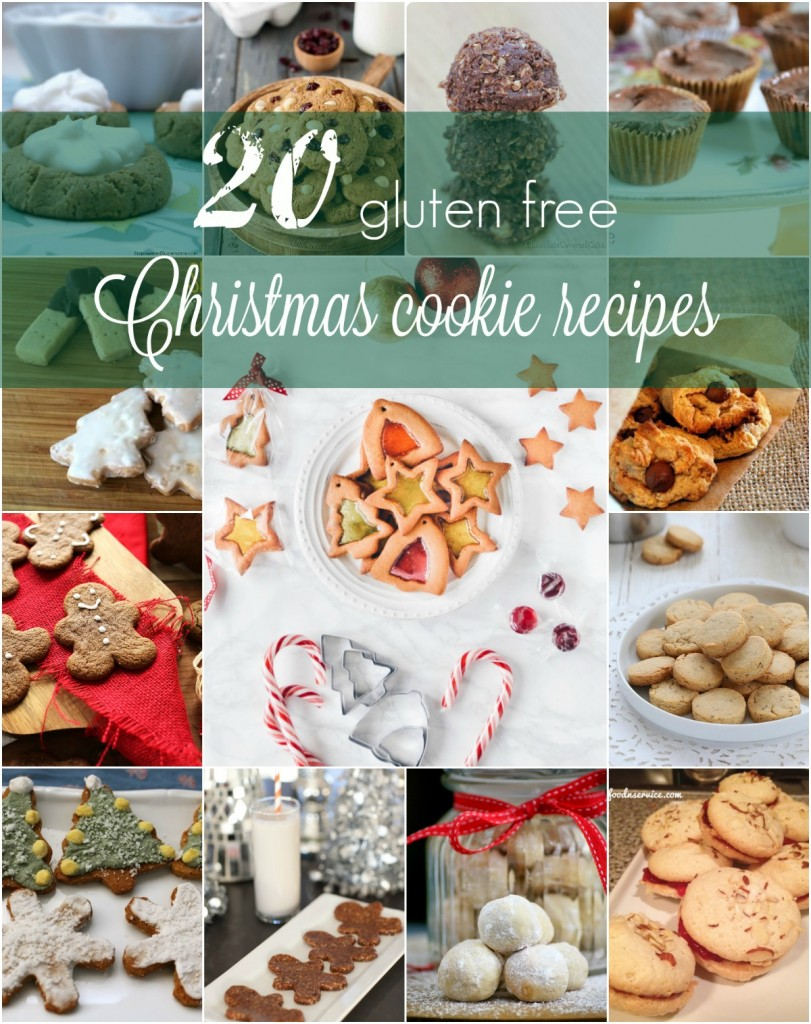 20 Gluten Free Christmas Cookie Recipes