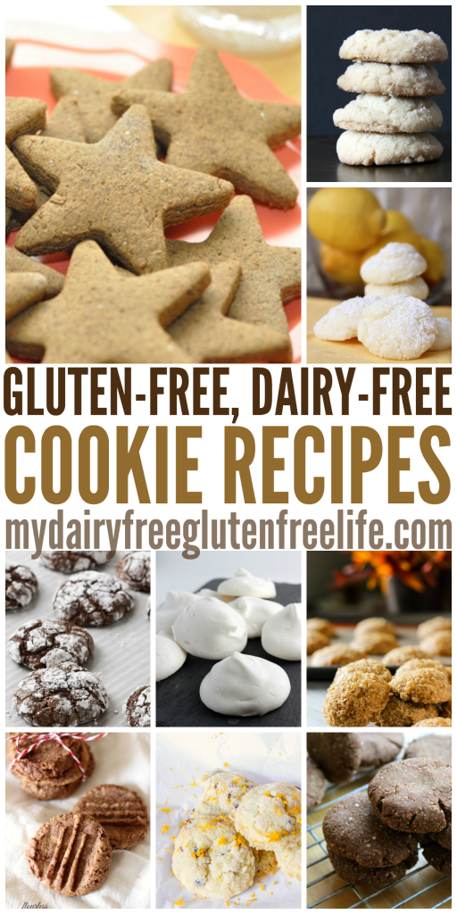 25 Gluten Free Dairy Free Cookie Recipes