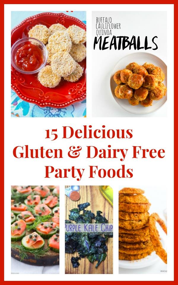 15 Delicious Gluten & Dairy Free Party Food