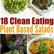 18 Clean Eating Plant Based Salad Recipes