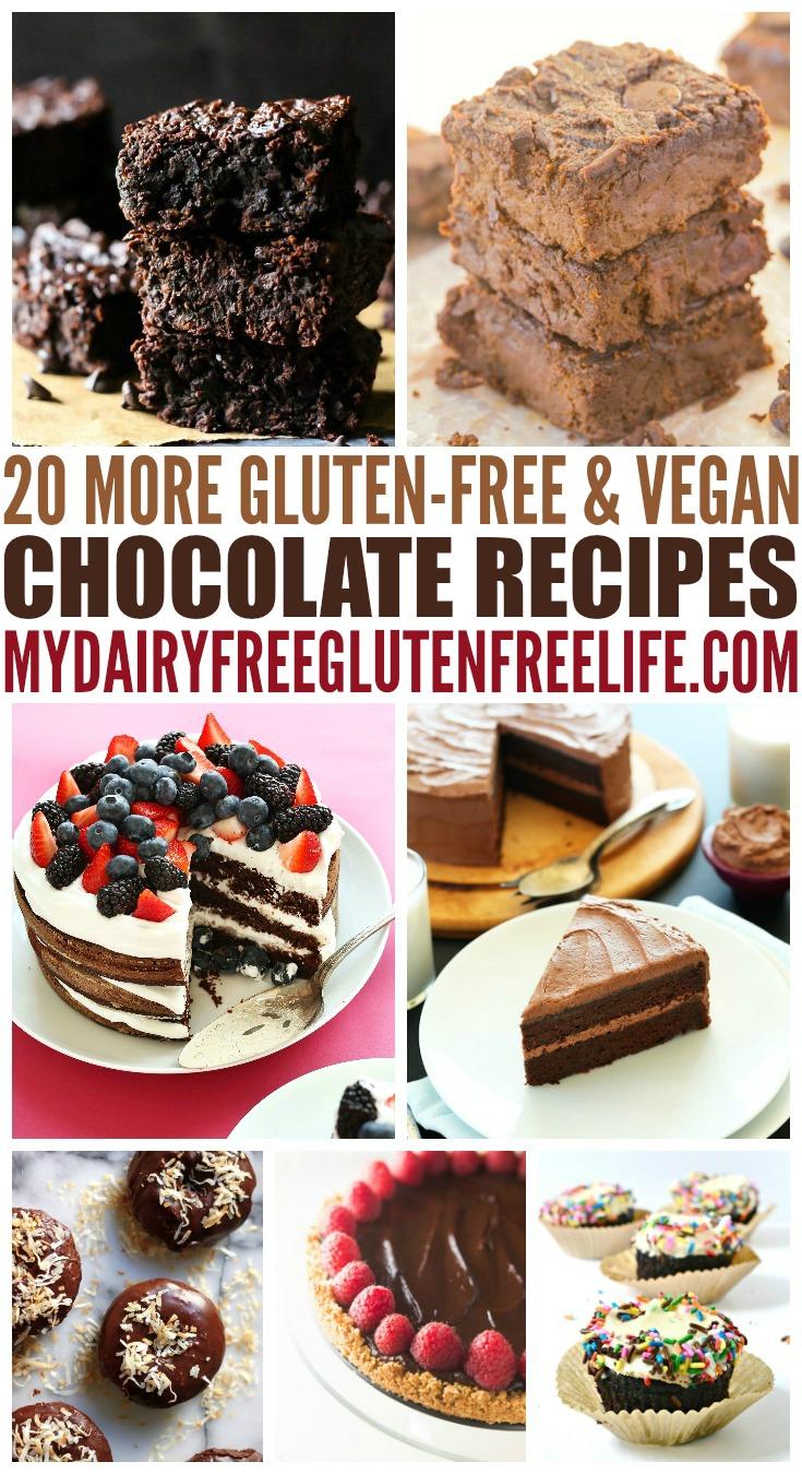 20 MORE Chocolate Recipes, Gluten Free and Vegan