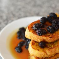 Squash and Banana French Toast Vegan and Gluten Free