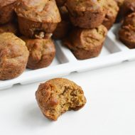 Banana Muffins Vegan & Gluten Free