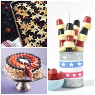July 4th Red White & Blue Treats – NO Gluten & Vegan