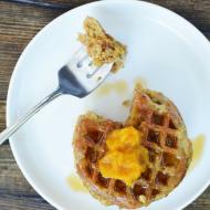 Pumpkin Mini Waffles, Vegan & Gluten Free
