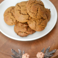 Soft Pumpkin Cookies, Vegan & Gluten Free