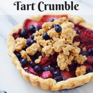 Triple Berry Tart Crumble