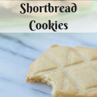 Shortbread Cookies, Vegan and Glutenfree