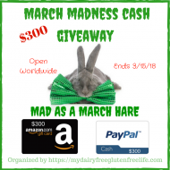 $300 March Madness Cash Giveaway