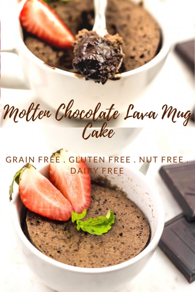 Molten Lava Chocolate Mud Cake