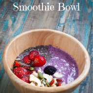 Blueberry Flax Smoothie Bowl Recipe