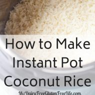 How to Make Instant Pot (IP) Coconut Rice