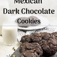 Flourless Mexican Dark Chocolate Cookies