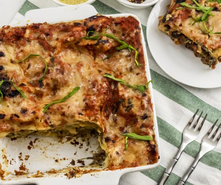 Homemade Lasagna Vegan & GlutenFree