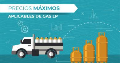 Disminuye un 10.87% costo de gas LP por aplicación de precios máximos