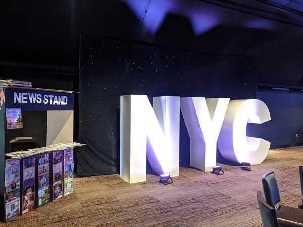 New York Block Letters