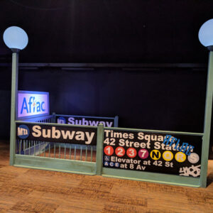 New York Subway Prop