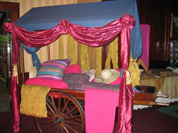 Colorful Arabian Cart