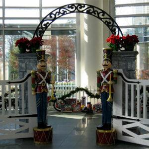 Christmas Nutcracker Guards Prop