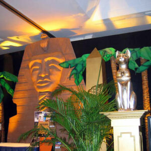 Egyptian theme party decoration
