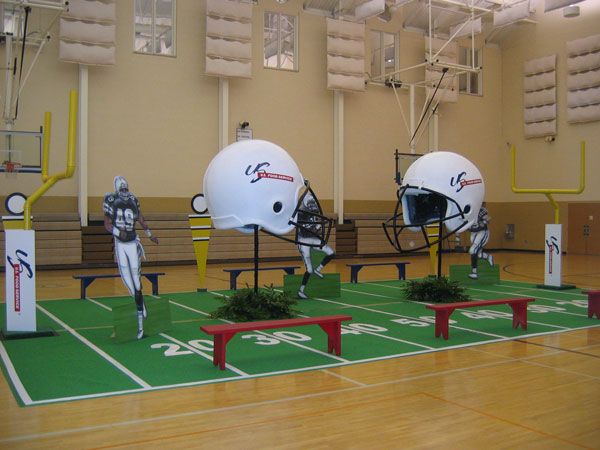 Super Bowl decor