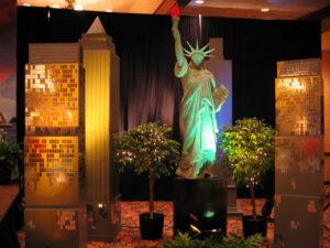New York Themed Decor