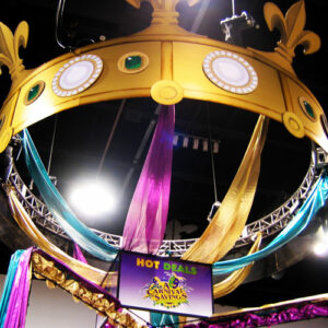 Mardi Gras Giant Truss Crown