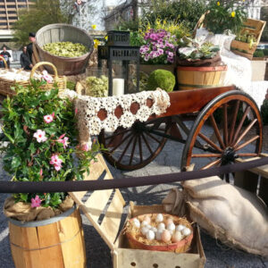 French and Parisian Props - Market cart