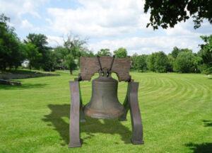 Liberty bell prop