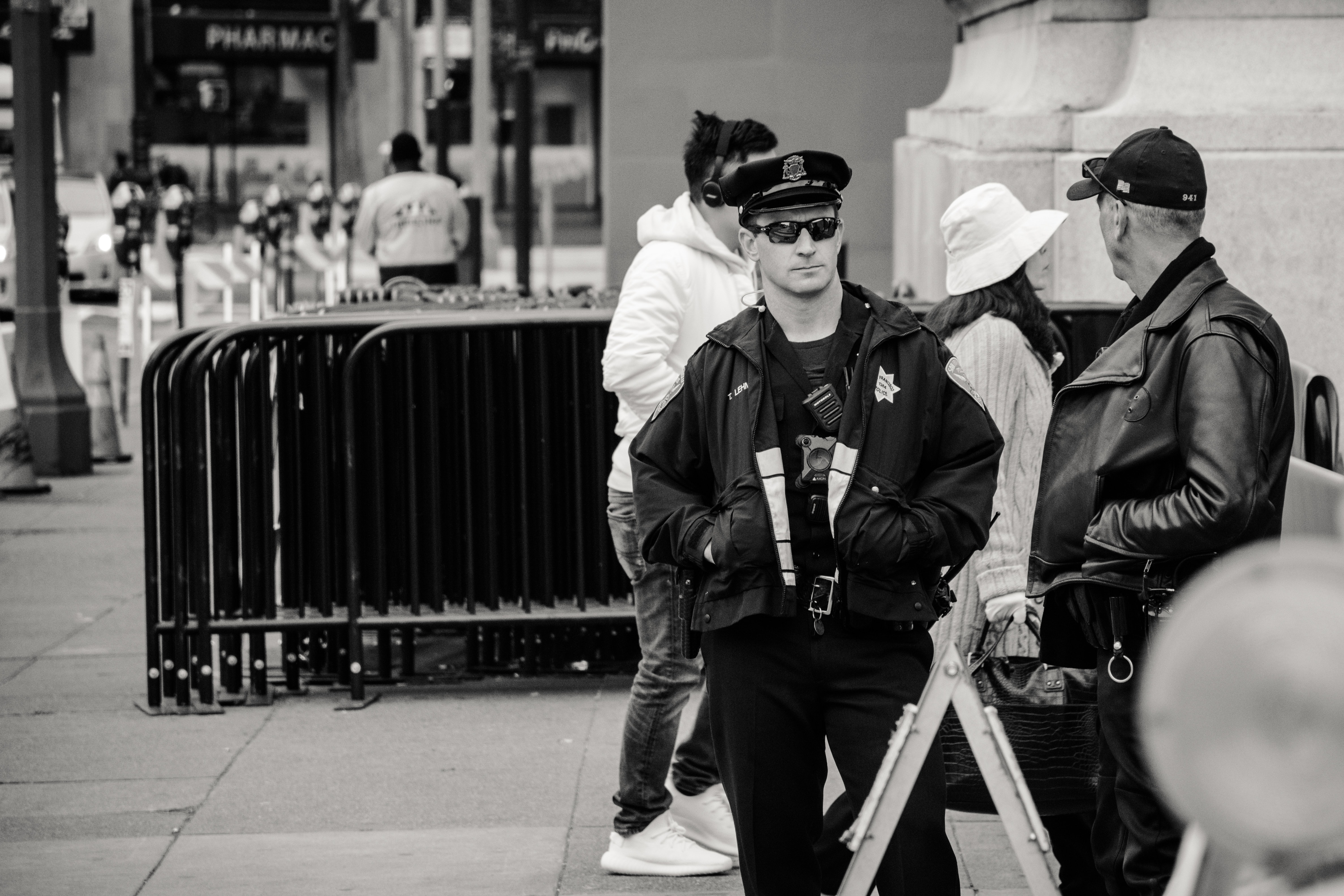 He's Not My Partner Because He's My Boyfriend, He's My Partner Because We're Both Cops