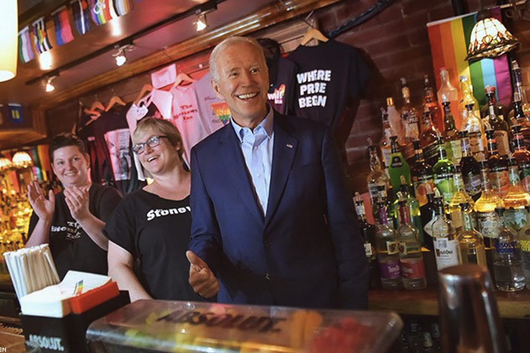 Vice President Biden Too Handsy Even By Gay Bar Standards