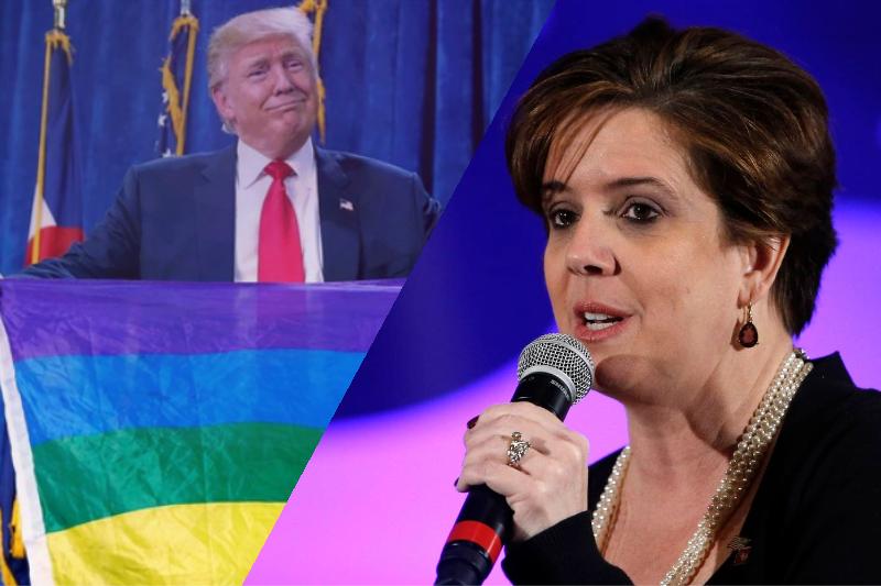 'A Log Cabin Republican Will Not Stan!' LGBT Conservative Quits Amid Trump 2020 Endorsement