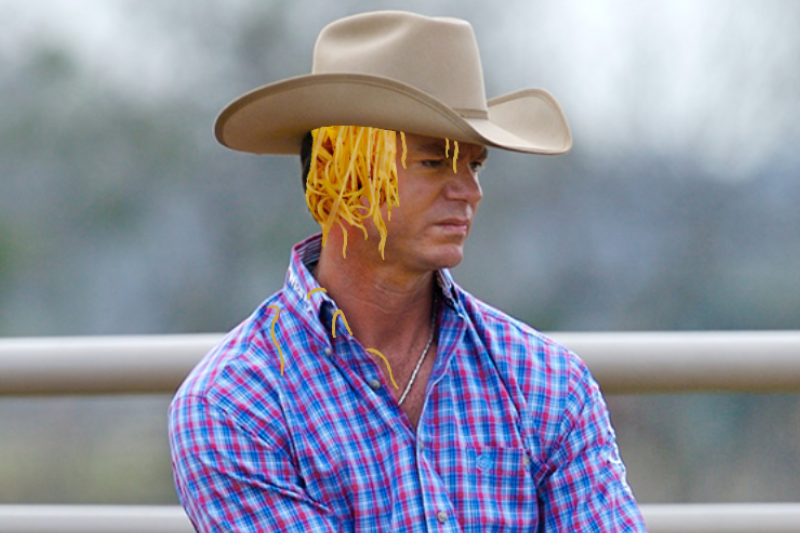7 Show-Stopping Straight Pride Lewks That Are Just Cowboy Hats Filled With Spaghetti