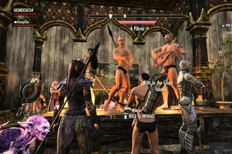 New 'Elder Scrolls' Update Finally Lets You Experience the Anxiety of PDA With Your Same-Sex Partner