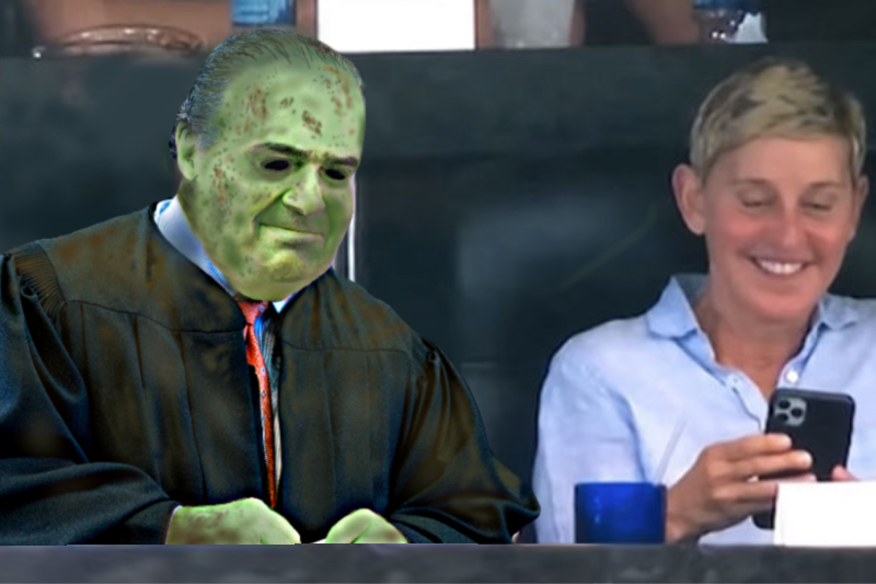 Ellen Spends National Coming Out Day With Exhumed Corpse Of Justice Scalia